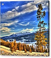 Breckenridge Skies Acrylic Print by Scott Mahon
