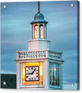 Brecksville Clock Tower Acrylic Print by Jenny Ellen Photography