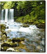 Brecon Waterfall Acrylic Print