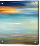 Breeze-seascapes Abstract Art Acrylic Print