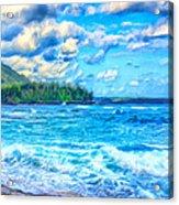 Breezy Hawaii Morning Acrylic Print