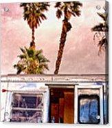 Breezy Palm Springs Acrylic Print