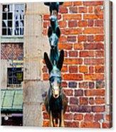Bremen Musicians Statue Acrylic Print