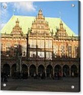 Bremen Town Hall Germany Acrylic Print