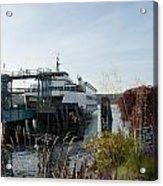 Bremerton Wa Ferry Doc Acrylic Print