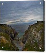 Bretagne Cliffs Acrylic Print