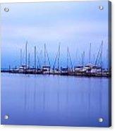 Brewer Yacht Yard At Cowesett Rhode Island Acrylic Print