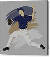 Brewers Shadow Player Acrylic Print