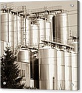 Brewery Acrylic Print
