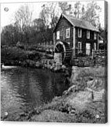 Brewster Grist Mill Acrylic Print
