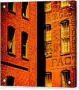 Brick And Glass Acrylic Print
