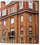 Brick Building In Dublin Acrylic Print