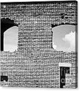 Brick Construction Of The Walls Of Fort Jefferson Dry Tortugas National Park Florida Keys Usa Acrylic Print by Joe Fox