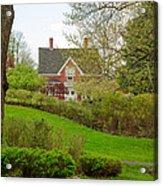 Brick Cottage Acrylic Print