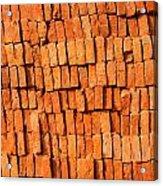 Brick Stack Acrylic Print