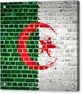 Brick Wall Algeria Acrylic Print