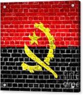 Brick Wall Angola Acrylic Print