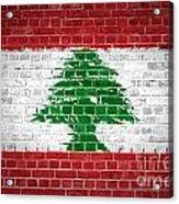 Brick Wall Lebanon Acrylic Print