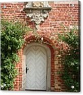 Brickcastle And White Door Acrylic Print