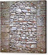 Bricked Up Doorway Acrylic Print