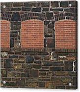 Bricked Windows   #2561 Acrylic Print