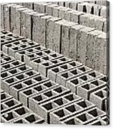 Bricks Drying In The Sun Acrylic Print