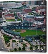 Bricktown Ballpark D Acrylic Print by Cooper Ross