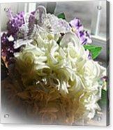 Bridal Butterfly Acrylic Print