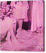Bridal Pink By Jrr Acrylic Print
