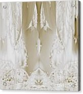 Bridal Satin Acrylic Print