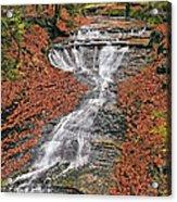 Bridal Veil Waterfall Acrylic Print
