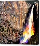 Bridalvail Falls Yosemite National Park Acrylic Print