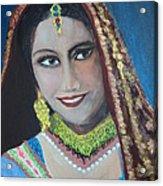 Bride Acrylic Print