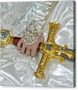 Sword In Hand Acrylic Print