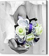 Bridesmaid Bouquet Acrylic Print