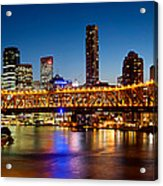 Bridge Across A River, Story Bridge Acrylic Print