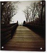 Bridge Ahead Acrylic Print