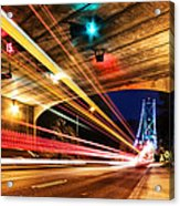 Bridge And Tunnel Acrylic Print by Alexis Birkill