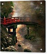 Bridge Acrylic Print by Andrzej Szczerski