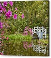 Bridge At Magnolia Plantation Acrylic Print