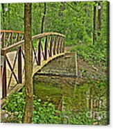 Bridge At River Bend Acrylic Print