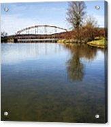 Bridge At Upper Lisle Acrylic Print