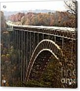 Bridge Acrylic Print by Blink Images
