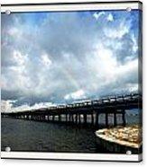 Bridge Acrylic Print by Bruce Kessler