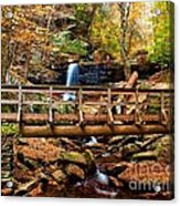 Bridge By B Reynolds Falls Acrylic Print