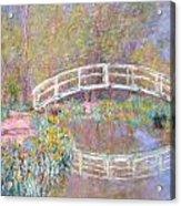 Bridge In Monet's Garden Acrylic Print