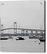 Bridge In Newport Acrylic Print
