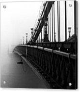 Bridge In The Fog - V Acrylic Print