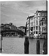 Bridge In The Gran Canal Acrylic Print