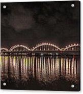 Bridge Lights Acrylic Print